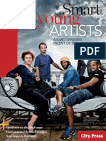 City Press I Magazine Cover, Standard Bank Young Artist Award press