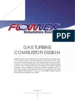 Case Study - Gas Turbine Combustor Design