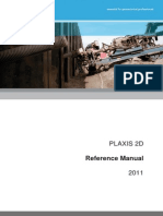 Plaxis 2D Reference Manual