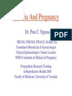 Malaria Pregnancy Ngassa