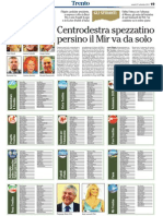 Candidati elezioni provinciali Trentino 27 ottobre 2013 da L'Adige 2