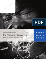 LRA - Human Rights Watch Report