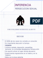 Abuso y Persecucion Sexual