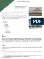 Classification Des Portiques (STS)