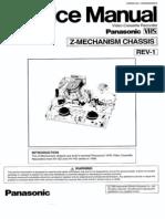 Panasonic Z Mechanism VCR