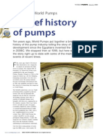 Brief History of Pumps