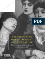 Morton Braund S., Gill C. (Eds.), The Passions in Roman Thought and Literature, 1997