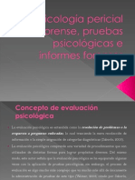 PSICOLOGÍA PERICIAL FORENSE