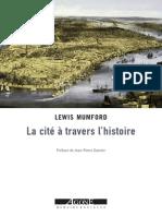 Lewis Mumford La Cite a Travers l Histoire