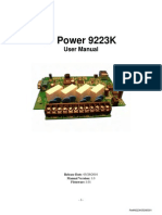 Manual Ip Power 9223k