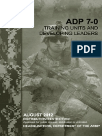 Adp7_0 Training Units and Develop Leaders