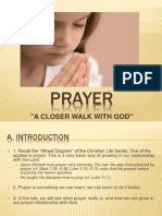 Prayer Lecture