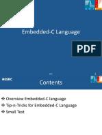 Embedded C