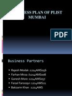 Business Plan of Plist Mumbai Final