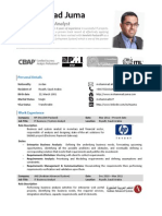 Mohammad Juma - Resume - September 2013