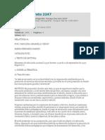 Ensayo Decreto 2247