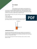 TEORIA DE PILAS Y COLAS LENGUAJE C.doc