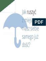 Parasol Jak Ruszyc z Miejsca