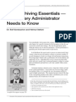 Data Archiving Essentials What Every Administrator Needs to Know