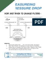 Filter Pressure Drop