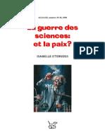 107118842 Isabelle Stengers La Guerre Des Sciences Et La Paix