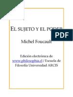 Foucault - El Sujeto y El Poder
