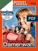 (00) Der Spiegel Nachrichtenmagazin Sonderheft Zur Bundestagswahl Vom 25 September 2013 (Verlag)