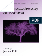 Pharmacology of Asthma - J. Li (Taylor
