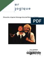 Dossier pédagogique du spectacle Pinocchio