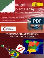 Bienvenid@s Carolinos 2013 14