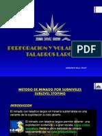 Perforacion y Voladura Con Taladros Largos