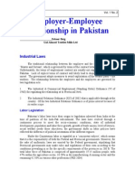 Employment laws in pakistan