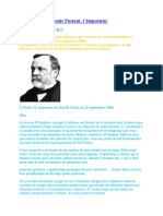 Un Courrier de Louis Pasteur