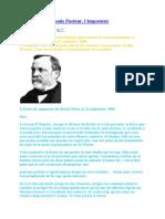 Un Courrier de Louis Pasteur