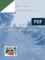 SAPEM Chapter 9 (Materials Utilisation and Design)