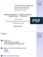 Overview of Polynomial Chaos Methods for UQ