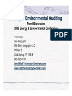 Quality and Environmental Auditing Risk Based