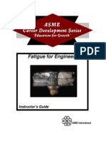 ASME 20- 20Fatigue 20for 20Engineers