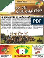 CADERNO ORGULHO DE SER GAÚCHO SUPLEMENTO EDIÇÃO 846