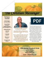 September 29 Newsletter