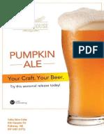 BrewHouse Pumpkin Ale