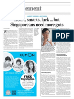 Management _ Singaporean Need More Guts