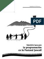 Material Apoyo Para Programacion Grupos Juveniles Www.pjcweb.org