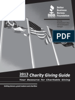 2013 Charity Guide for the Web - 1
