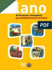 plano prevenção emergência estabelecimentos ensino