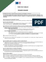 Paris Pass Familles PJ 1ere Demande
