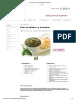 Recetas Unicasa_ Pesto de Albahaca y Almendras.pdf