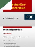 5.- Eventracion y Evisceracion