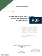 As Representacoes Da Lingua Materna Ghiraldelo,Claudetemoreno