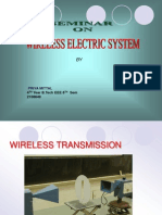 Wireless Electric System